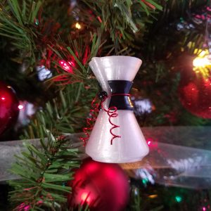 coffee lover christmas ornament chemex christmas ornament